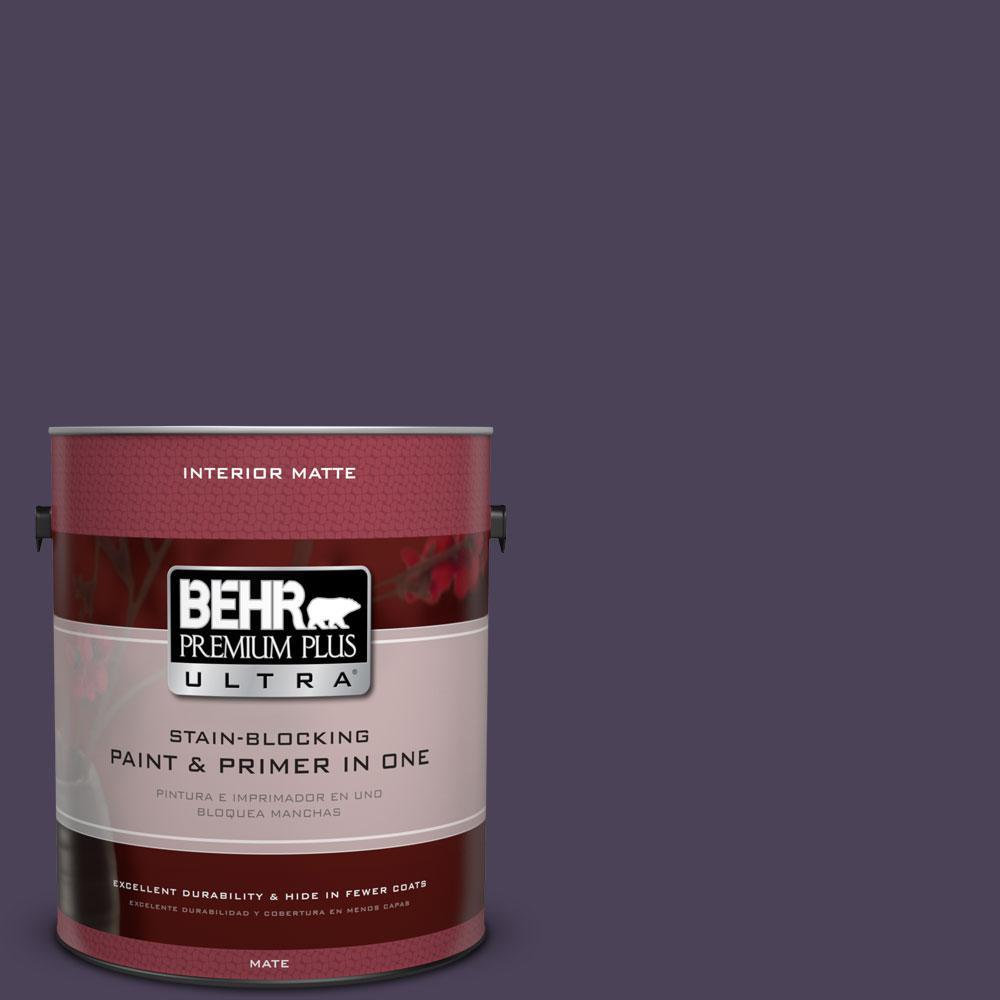 BEHR Premium Plus Ultra Home Decorators Collection 1 gal. #HDC-CL-06 Sovereign Flat/Matte Interior Paint