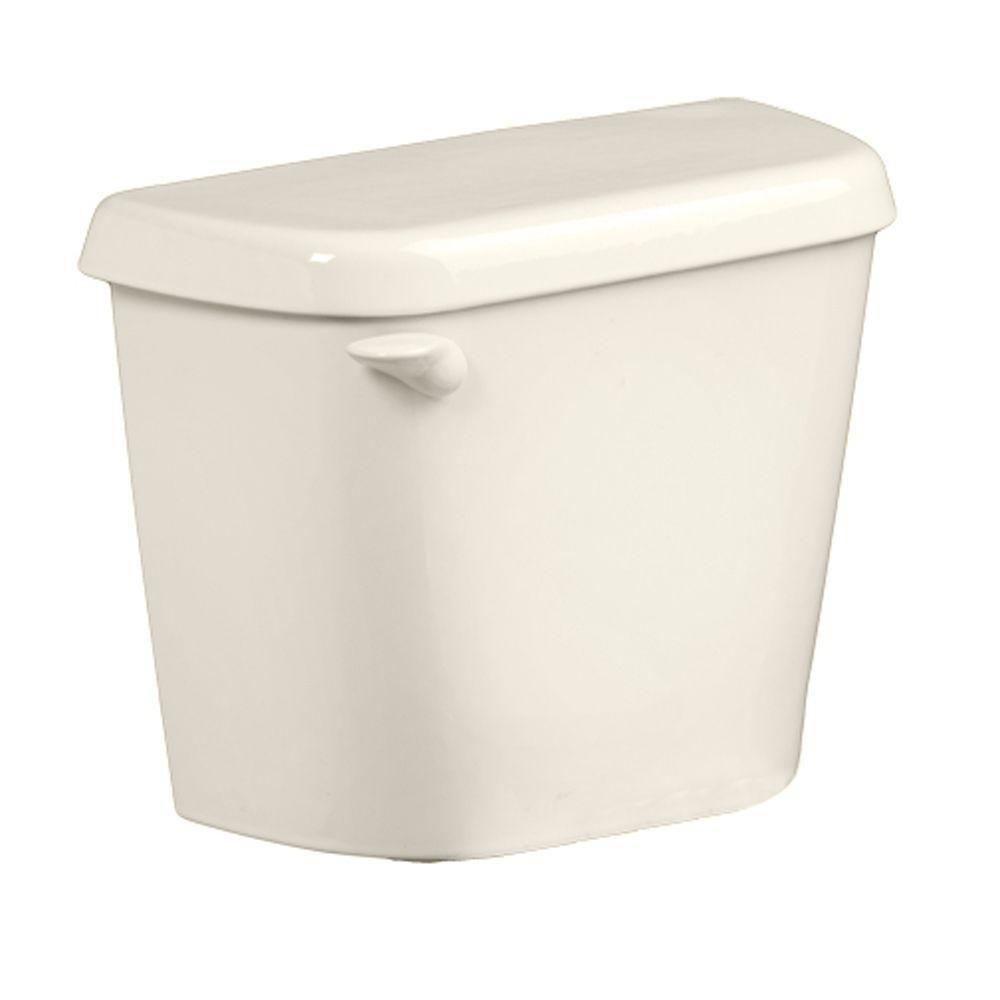 American Standard Colony 1.6 GPF Single Flush Toilet Tank Only for 12 in. Rough in Linen