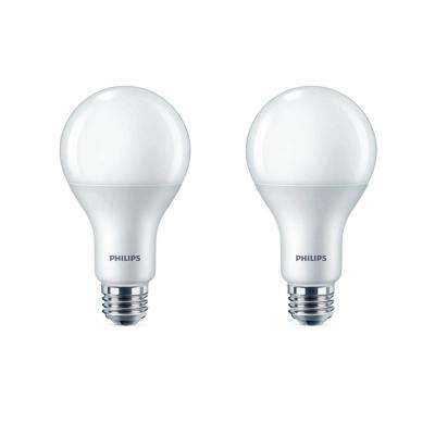 75-Watt Equivalent A21 Dimmable LED Daylight (2-Pack)
