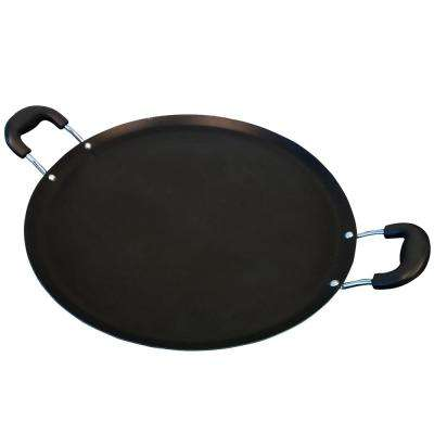 Zadora 14 in. Carbon Steel Comal Pan