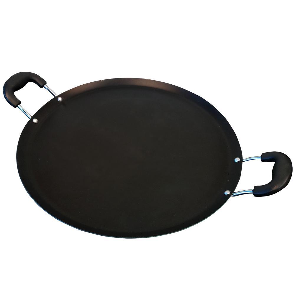 Zadora 14 in. Carbon Steel Comal Pan