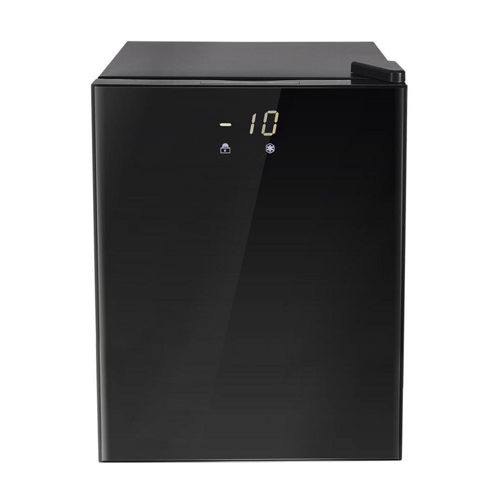 2.1 cu. ft. Upright Freezer with Reversible Adjustable Door in Stainless Steel