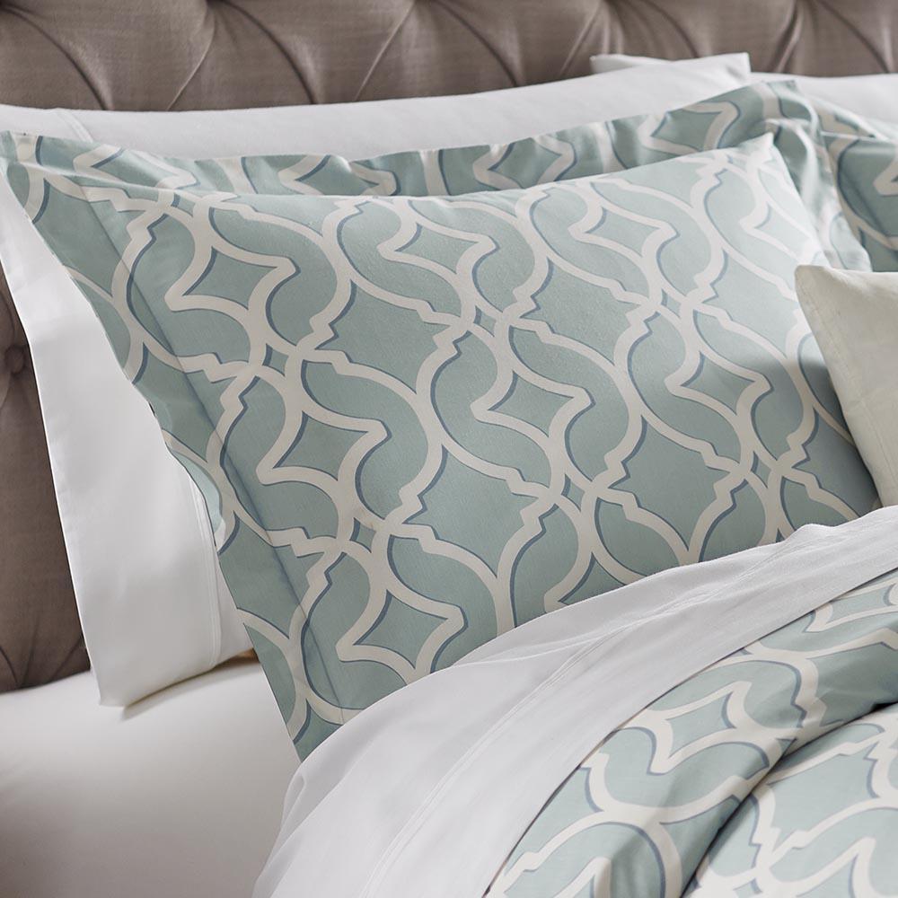 standard pillow shams. Home Decorators Collection Nuri Seaglass Standard Pillow Sham Shams