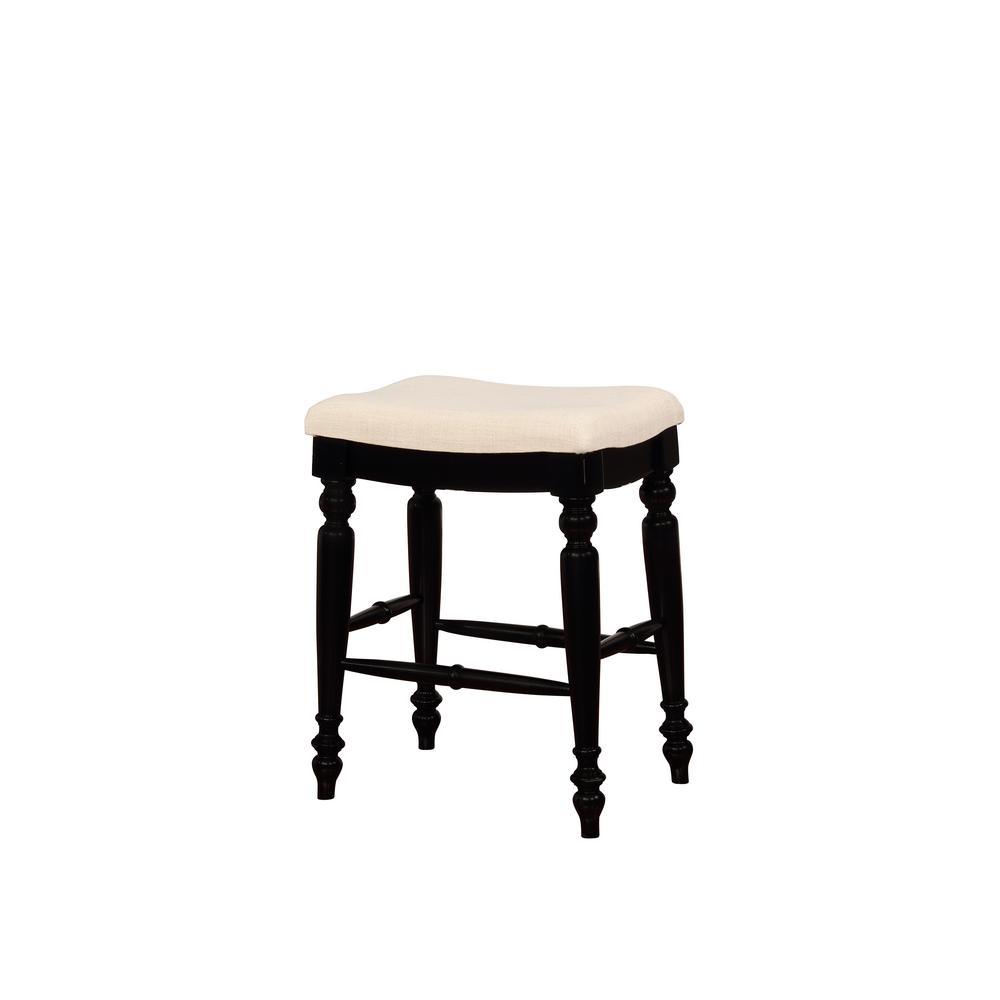 Linon Home Decor Claridge 26 In Beige Cushioned Counter