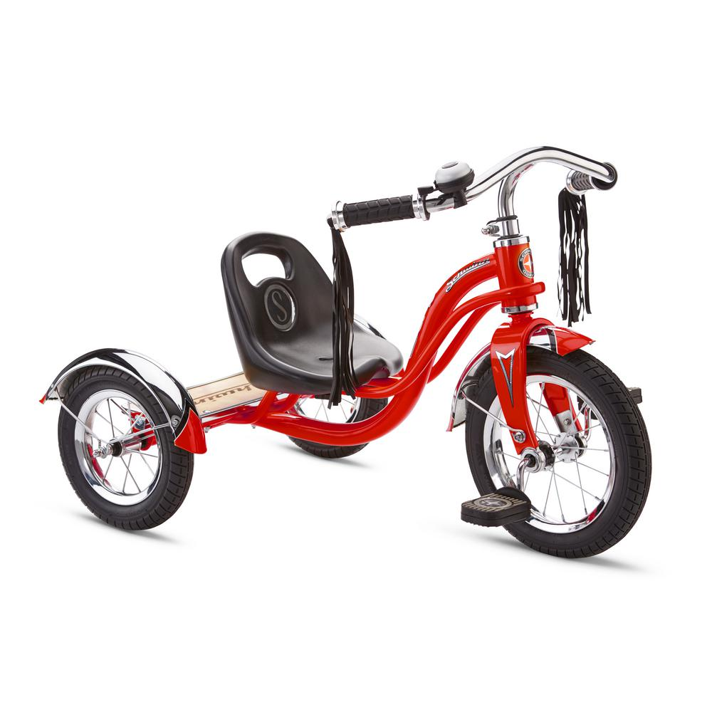 e6b2f6229eb Schwinn 12 in. Trike for Ages 2-Years to 4-Years in Red-S6760 - The ...