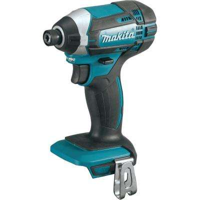 18-Volt LXT Lithium-Ion 1/4 in. Cordless Impact Driver (Tool-Only)