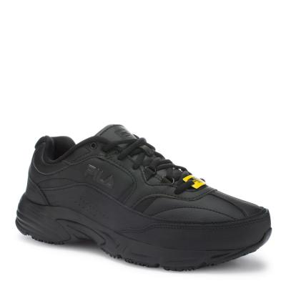 0380ea31356 Skechers Cottonwood - Elks Men Size 9 Black Leather Work Shoe ...