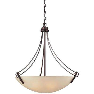 Wright 4-Light Espresso Pendant