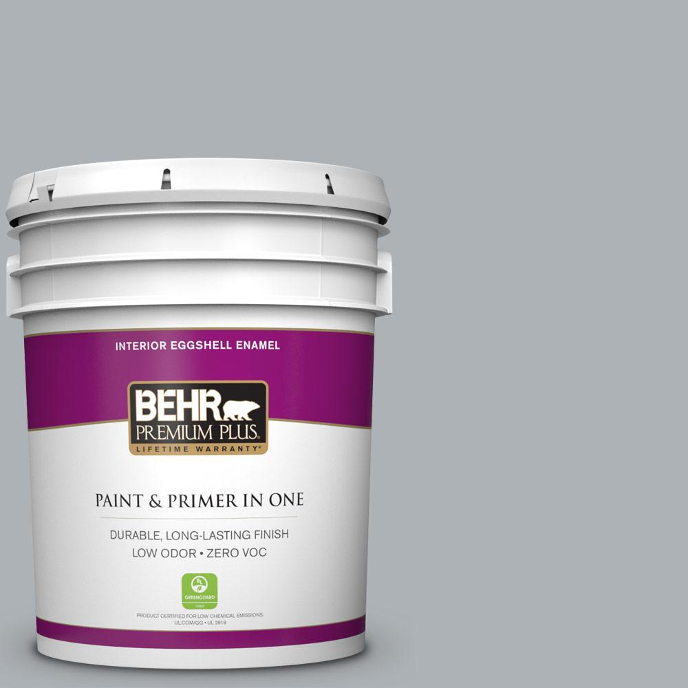 BEHR Premium Plus 5-gal. #N510-3 Stargazer Eggshell Enamel Interior Paint