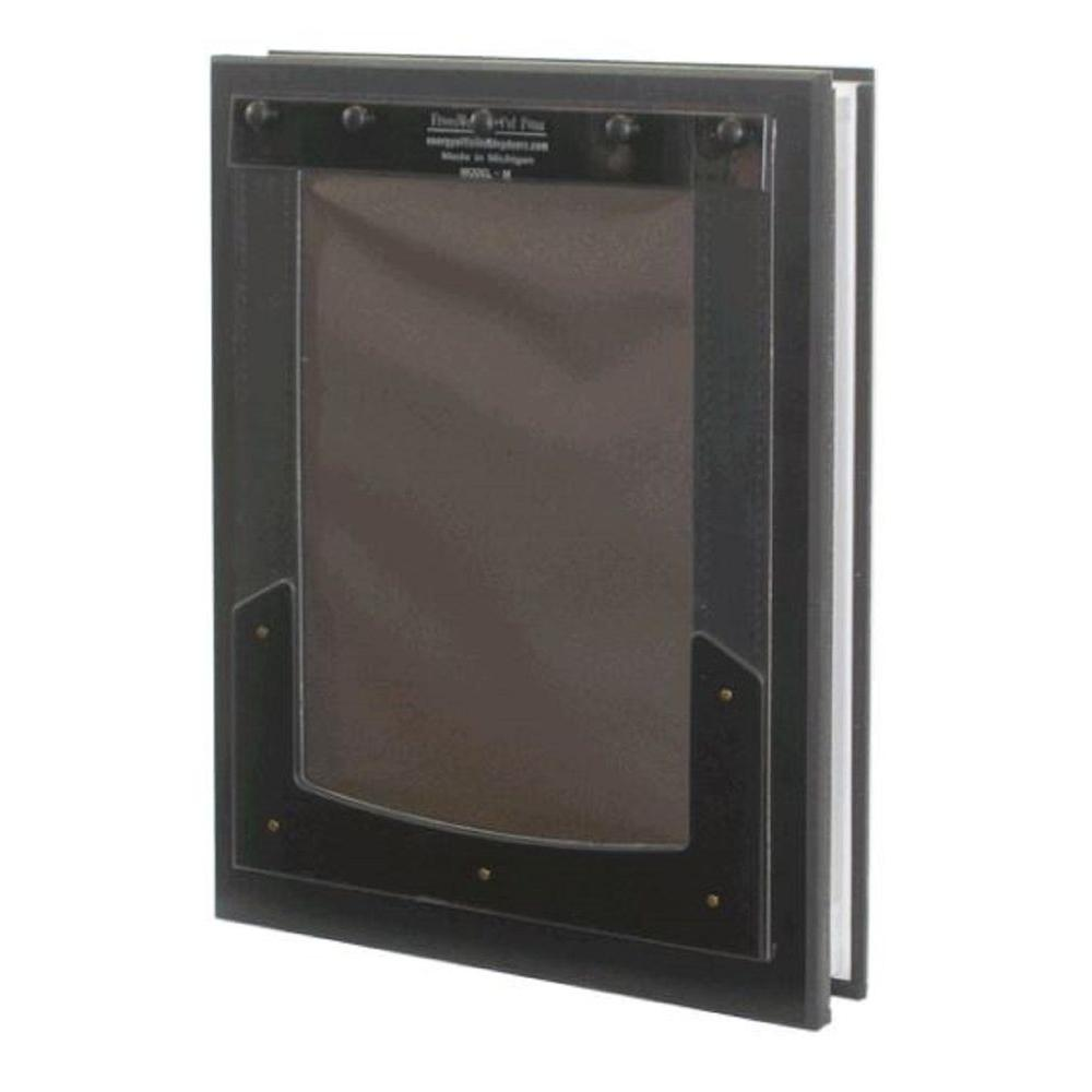 6 in. x 10 in. Door Mount Pet Door