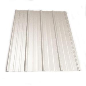 Metal Sales 8 Ft. Classic Rib Steel Roof Panel In Galvalume 2313241   The  Home Depot