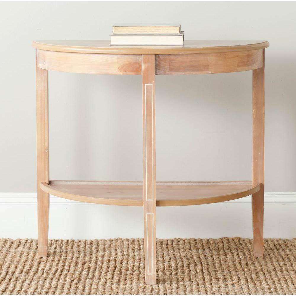 Safavieh Amos Red Maple Console Table
