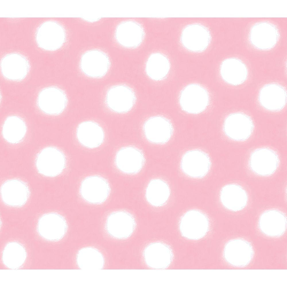 Disney 8 in. x 10 in. Pink Pastel Circle Watercolor Wallpaper Sample-DISCONTINUED