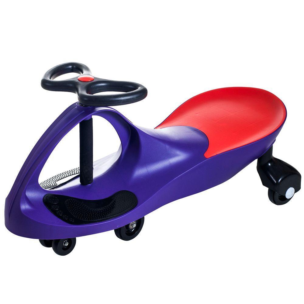 Purple Wiggle Car Ride On