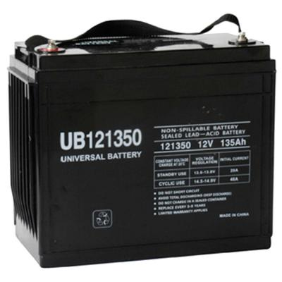 12-Volt 135 Ah I6 Terminal Sealed Lead Acid (SLA) AGM Rechargeable Battery