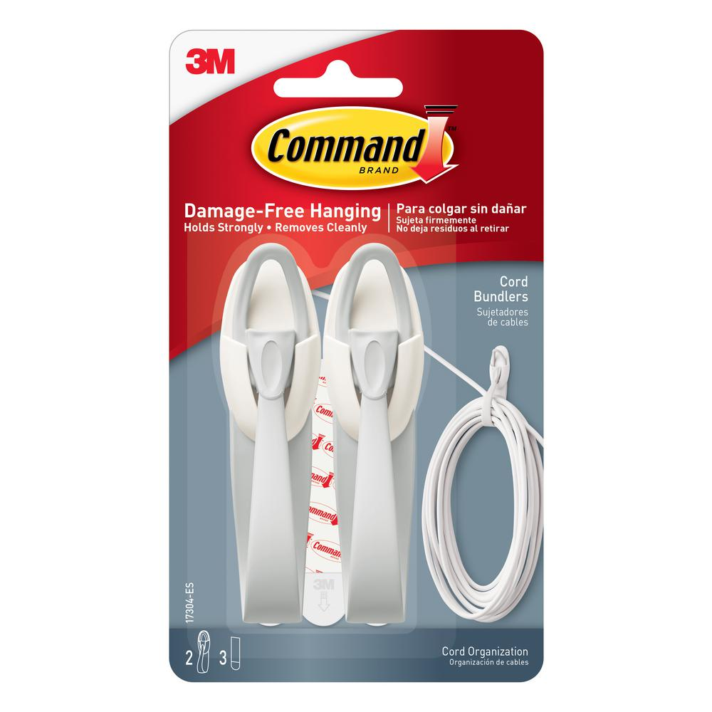 Command 2 Lbs Cord Bundler Kit 17304 Es The Home Depot
