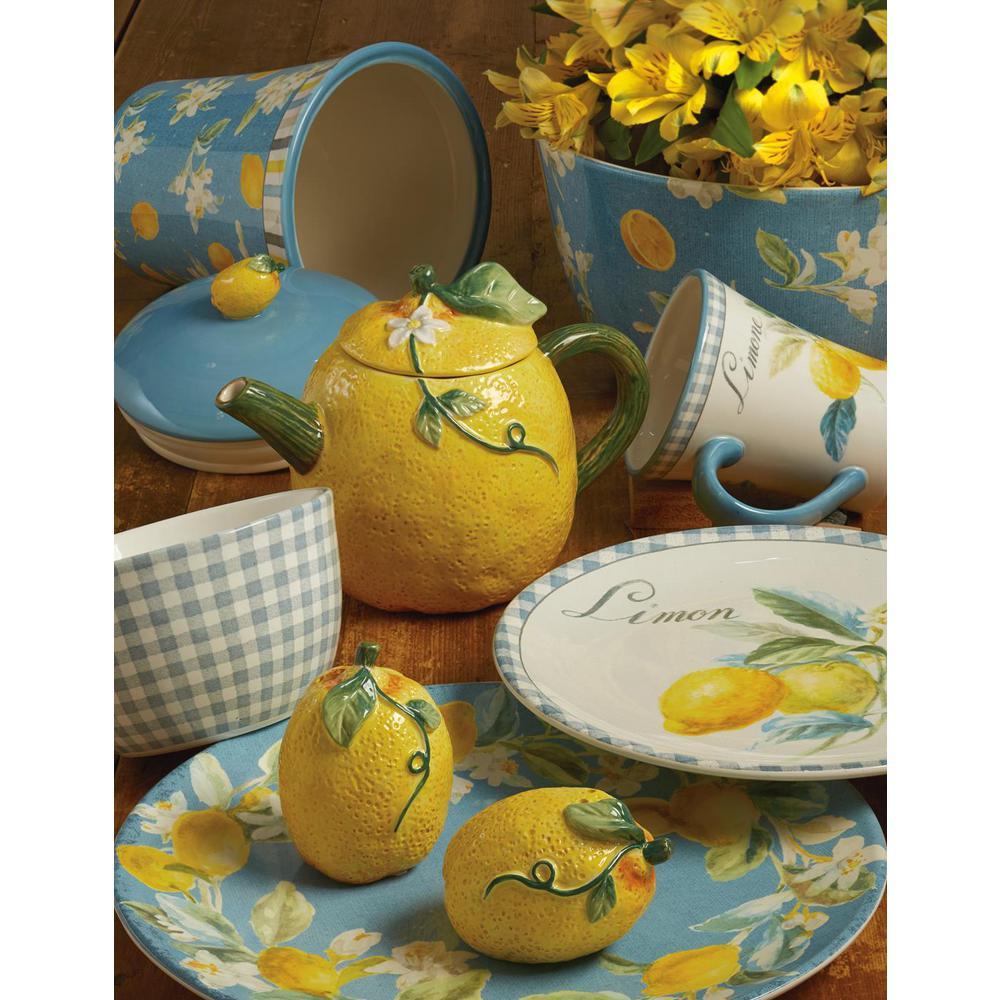 Multi-Colored 192 oz. Citron Deep Bowl