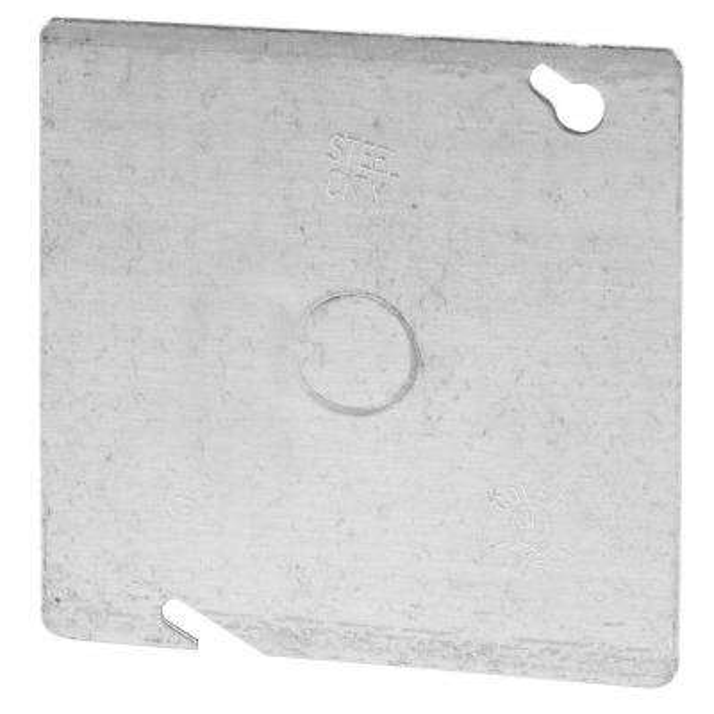 4-11/16 in. Steel Square Box Cover (Case 50)