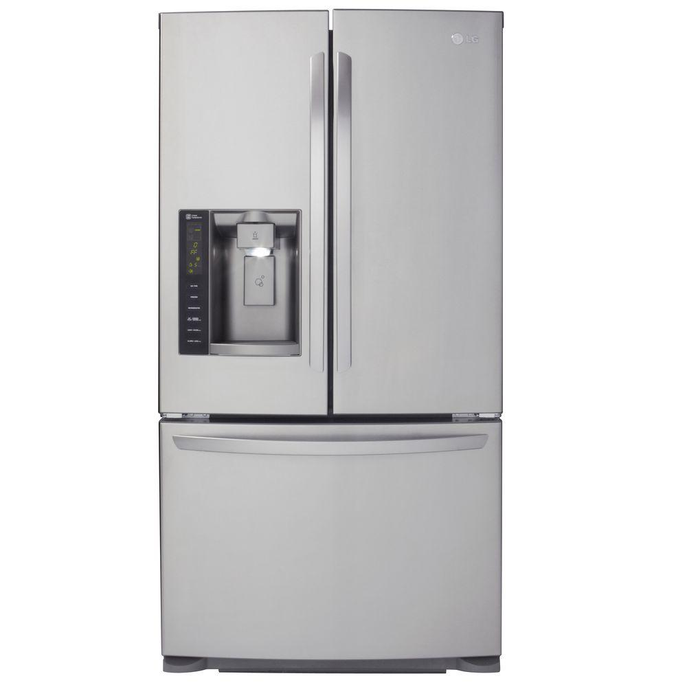 LG Electronics 24.1 cu. ft. French Door Refrigerator in Stainless Steel