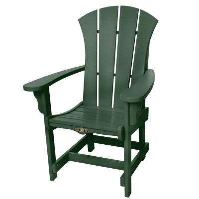 DuraWood Sunrise Patio Dining Chair with Arms in Pawley's Green