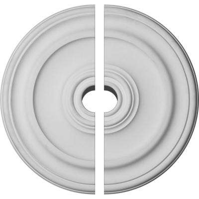 19-3/4 in. OD x 1-1/2 in. P Kepler Traditional Ceiling Medallion (2-Piece)