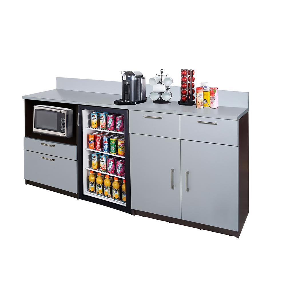 Hue Espresso Sideboard Lunch Break Room Commerci Image