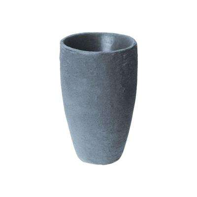 Athena 28.5 in. x 17.5 in. Charcoal Self-Watering Plastic Planter