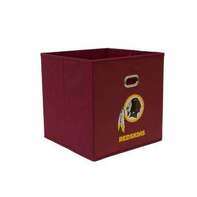 Washington Redskins NFL Store-Its 10-1/2 in. W x 10-1/2 in. H x 11 in. D Garnet Fabric Drawer