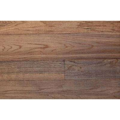 3D Grain Wood 5/16 in. x 5 in. x 24 in. Reclaimed Wood Oak Decorative Wall Planks in Brown Color (10 sq. ft. / Case)