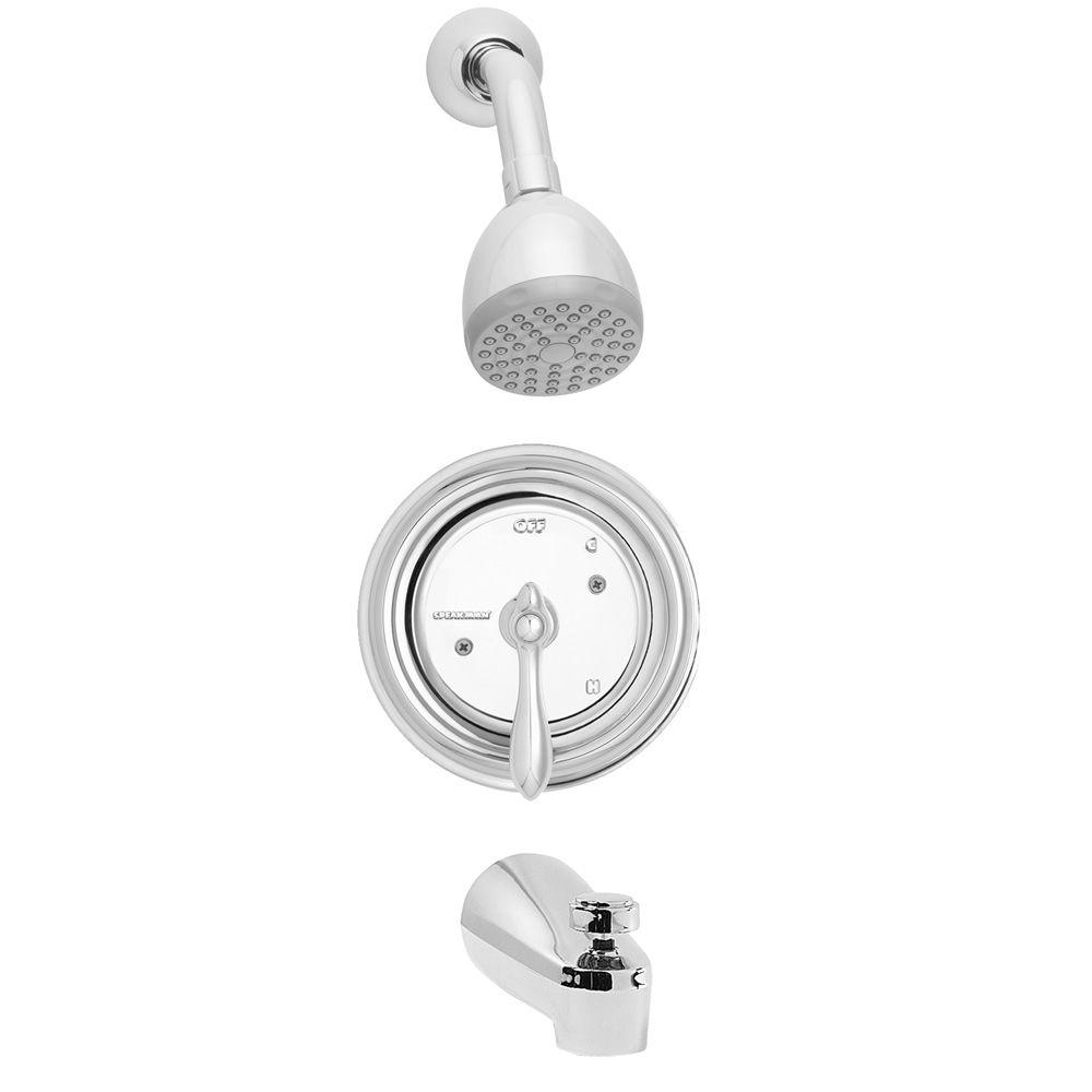 Speakman Sentinel Mark II Royale Single-Handle 1-Spray Tub and Shower Faucet with Pressure Balance Valve in Polished Chrome