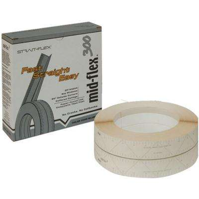 3 in. x 100 ft. Mid-Flex 300 Laminated Drywall Joint Corner Tape MF-100S