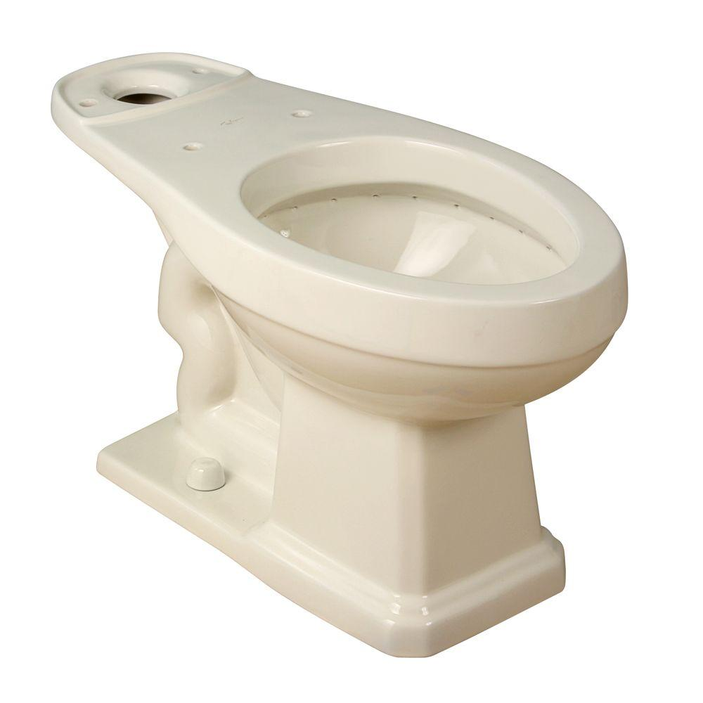 Foremost Groups Elongated Toilet Bowl Only in Biscuit, Beige