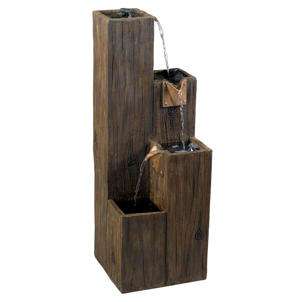Gentil Kenroy Home Timber Indoor/Outdoor Fountain