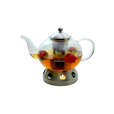 6.3-Cup Glass Teapot with Stainless Steel Warmer (FGD51T)