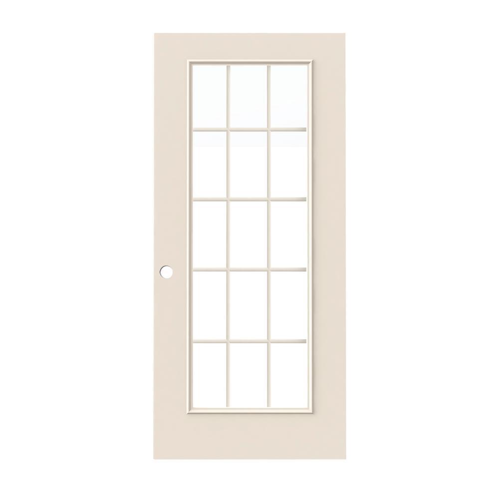 15 Lite Exterior Door Home Depot