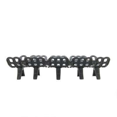 33 in. Cast Iron Fireplace Grate with 2.5 in. Legs