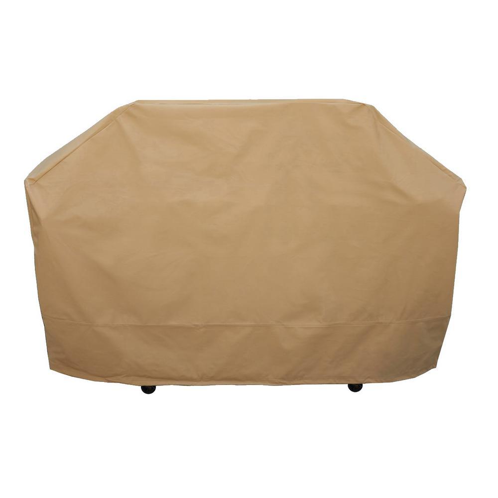 Seasons Sentry 62 in. Premium Medium Grill Cover, Brown