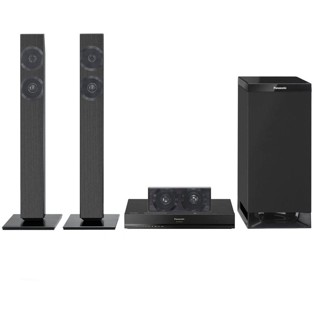 Panasonic 300-Watt 3.1-Channel Home Theater System Soundbar with Wireless Subwoofer - Black-DISCONTINUED
