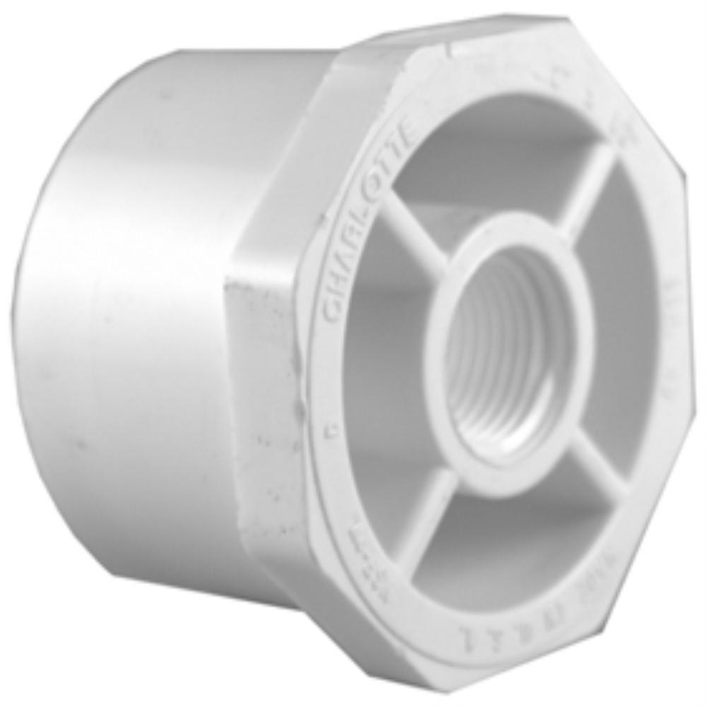 1-1/4 in. x 3/4 in. PVC Sch. 40 SPG x S