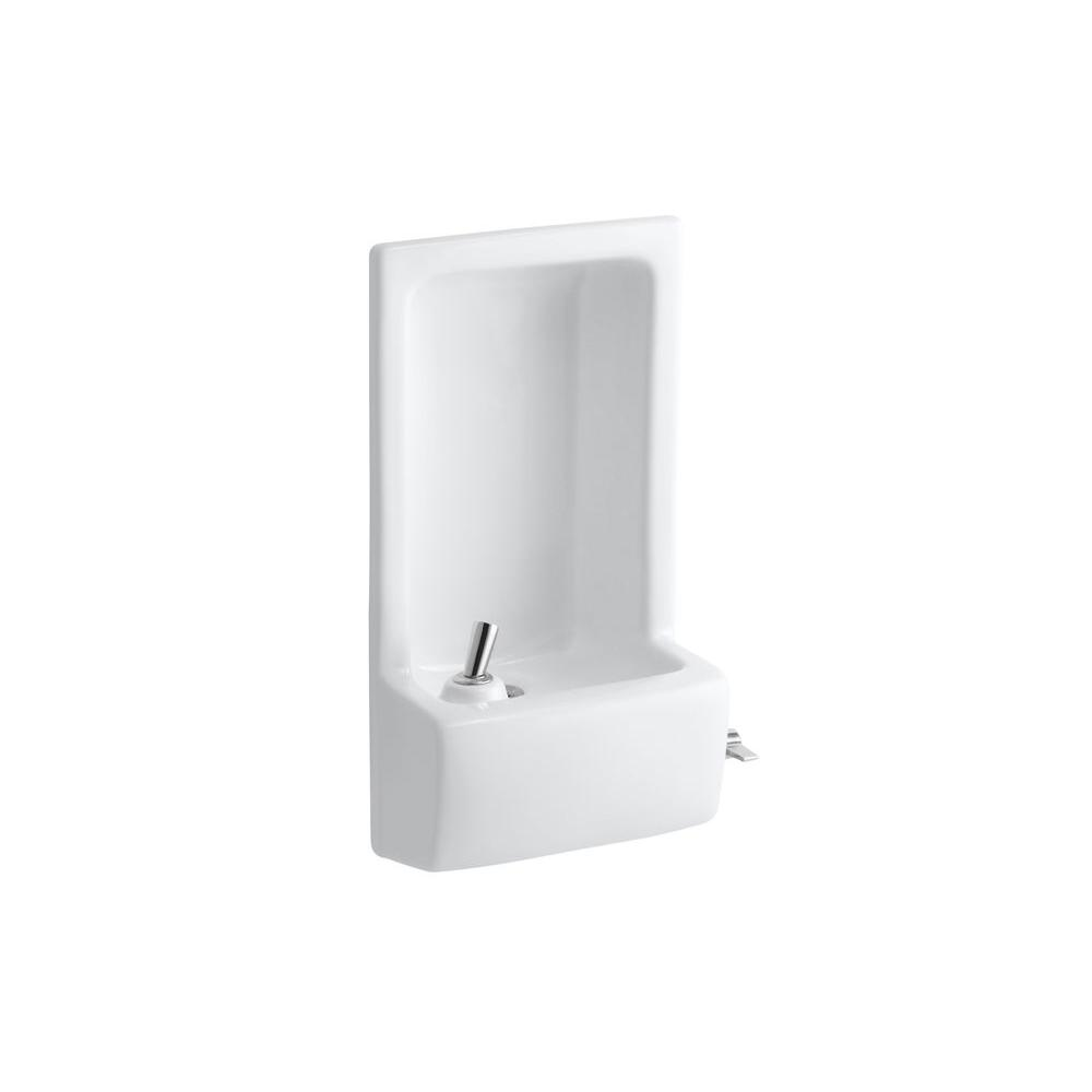 KOHLER Glenbrook Lever Drinking Fountain Faucet in White-K-5293-0 ...