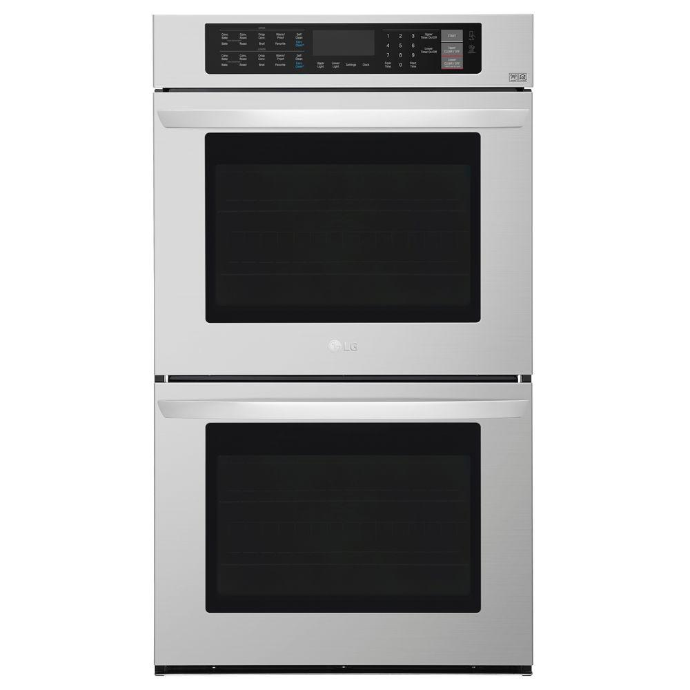 Lg Electronics 30 In Double Electric Wall Oven Self Cleaning With