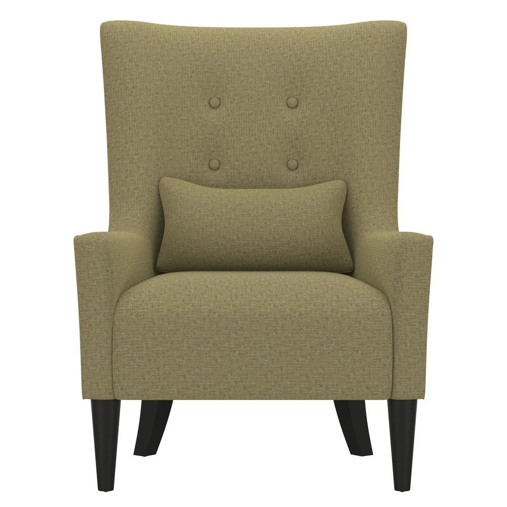 Cool Handy Living Venecia Apple Green Tweed Shelter High Back Machost Co Dining Chair Design Ideas Machostcouk