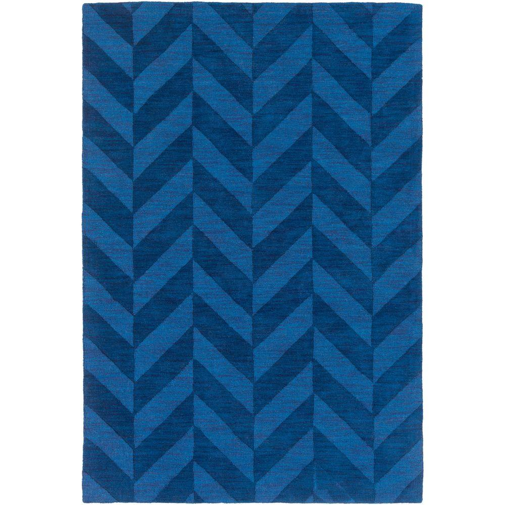 Artistic Weavers Central Park Carrie Navy 10 ft. x 14 ft. Indoor Area Rug