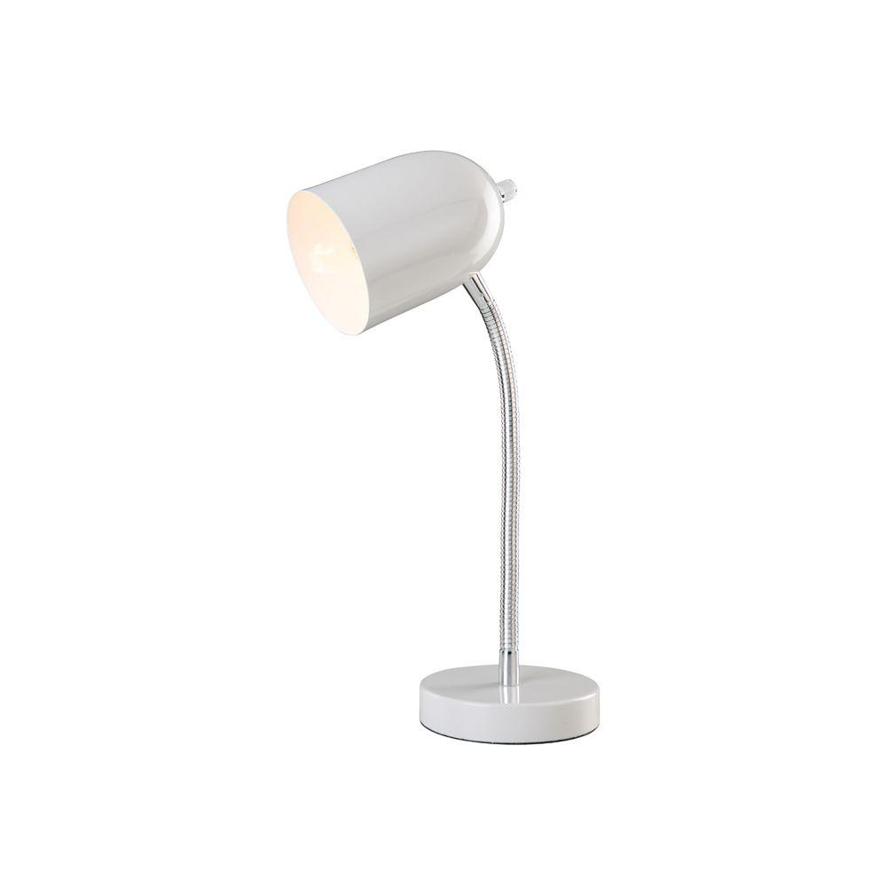 Perfect Home Essentials Oyster 1-Light Desk Lamp-DISCONTINUED