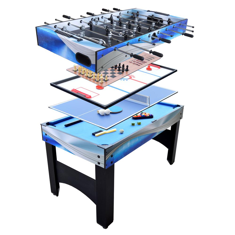 Charmant Hathaway Matrix 4.5 Ft. 7 In 1 Multi Game Table