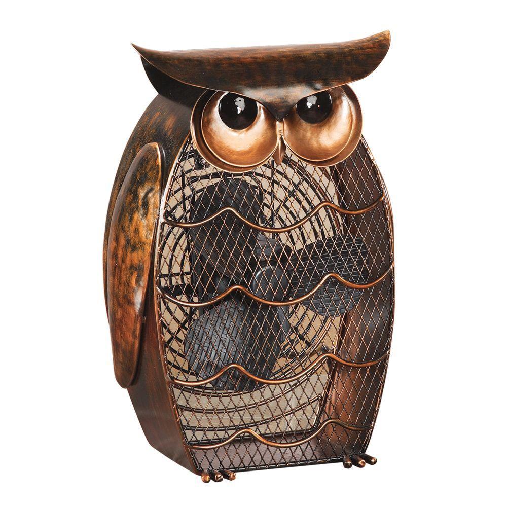 7 in. Figurine Fan-Owl