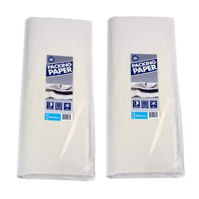 24 in. x 24 in. Packing Paper (200 Sheets) (2-Pack)
