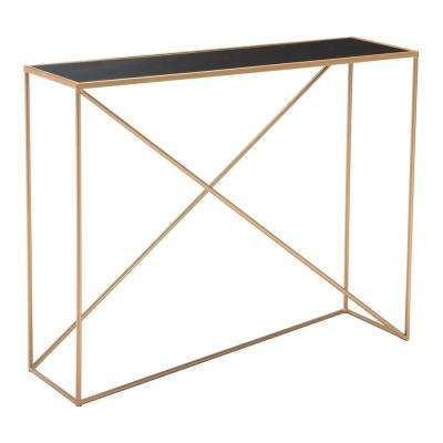 Sixty Black Console Table