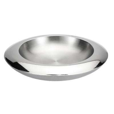 Lucido Stainless Steel Fruit Bowl