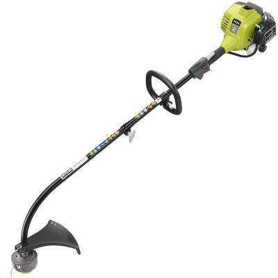25cc 2-Cycle Full Crank Curved Shaft Gas String Trimmer